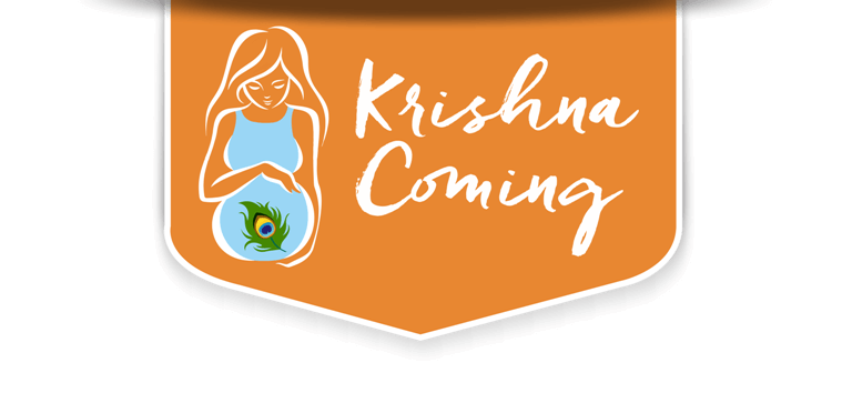 Krishna Coming Logo